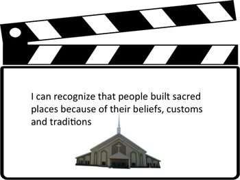 Grade 1 Religious Education I Can Statement Posters - Hollywood Theme