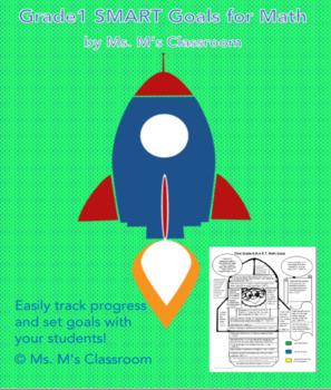 Grade 1 SMART Math Goals Sheet
