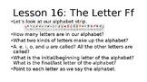Grade 1, Saxon Phonics Lesson 16