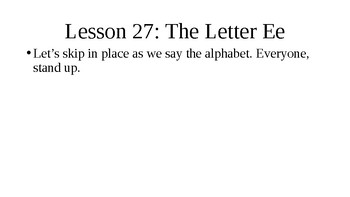 Grade 1, Saxon Phonics Lesson 27