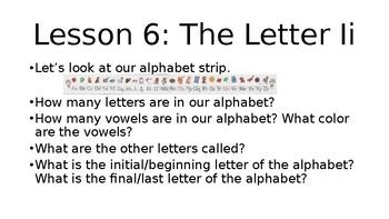 Grade 1, Saxon Phonics Lesson 6