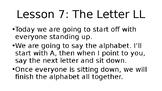Grade 1, Saxon Phonics Lesson 7