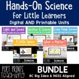 Grade 1 Science BUNDLE, Google Slides, Distance Learning