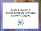 Grade 1 Science Cluster I Can Statements