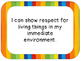 Grade 1 Science I Can Statements