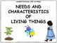Grade 1 Science Learning Goals Posters - 68 pages