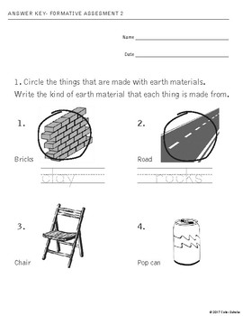 Grade 1 Science - Plants and Animals Assessments