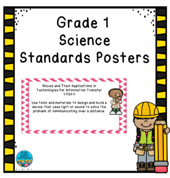 Grade 1 Science Standards Posters
