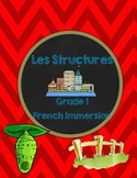 Grade 1 Science- Structures French Immersion