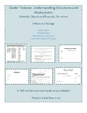 Grade 1 Science Structures resource package