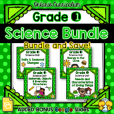 Grade 1 Science Units Bundle