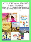 Grade 1 Scott Foresman Reading Street Unit 4 BUNDLE Smartb