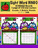 Grade 1 Sight Word BINGO color ink (Daycare Support by Pri