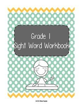 Dolch Grade 1 Sight Word Workbook