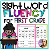 Sight Word Fluency for First Grade