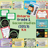 Grade 1 Social Studies Resources {Revised Ontario Curricul