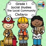 Grade 1 Social Studies Ontario The Local Community 2018