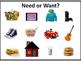 Grade 1 Social Studies Resources and Wealth