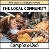 The Local Community-Grade One Ontario Social Studies