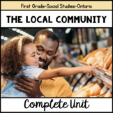 The Local Community-Grade One Ontario Social Studies