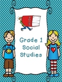 Grade 1 Social Studies Unit 3 - Power and Authority