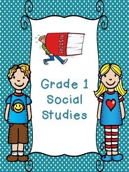 Grade 1 Social Studies Unit 3 - Power and Authority