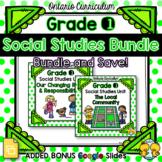 Grade 1 Social Studies Units Bundle