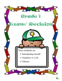 Grade 1 Spanish Exam/ Revision