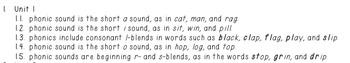 Grade 1 Wonders Spelling List
