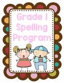 Grade 1 Spelling Program