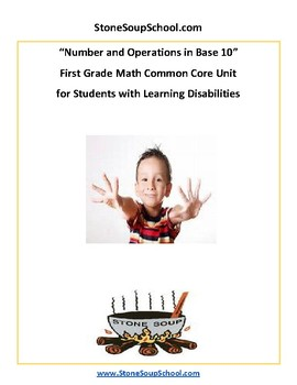 Grade 1 -  Students w/ Learning Disabilities - Numbers and Operations in Base 10
