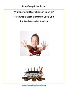 Grade 1 -  Students with Autism - Numbers and Operations in Base 10