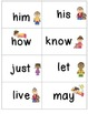 Grade 1 Super Sight Words Flash Cards & Word Wall Cards