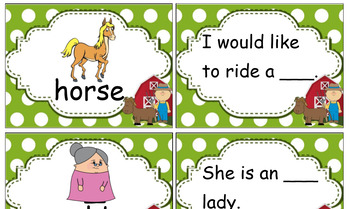 Grade 1 The Farmer in the Hat Activities Pack