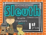 Grade 1 Unit 1 Reading Street SLEUTH Graphic Organizers