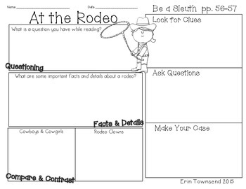Grade 1 Unit 4 Reading Street SLEUTH Graphic Organizers