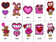 Grade 1 Valentines Day Dolch Word Game