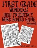 Grade 1 Wonders HFW Board Game FREEBIE