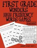 """Grade 1 Wonders HFW """"Boom"""" Game FREEBIE"""