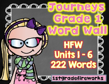 Grade 1 Word Wall...  222 Word CARDS!