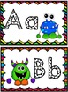 Grade 1 Word Wall: Monster Theme (Over 150 words)