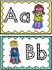 Grade 1 Word Wall: Super Hero Kids Theme (Over 150 Words)