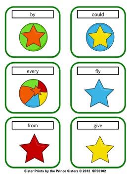 Grade 1 Word Wall Words - Circus