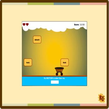 ELA Spelling Puzzles & Interactive Games Bundle Grade 1 (4 products)