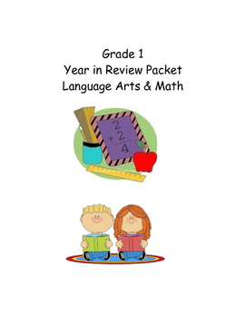 Grade 1 LA and Math Practice