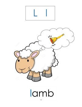 Grade 1 literacy: 1- Little Lamb goes to school (The letter L)