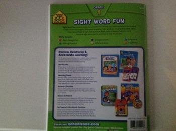 Grade 1 sight word fun