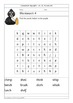 Grade 1 spelling lists and word puzzles