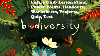 Grade 10-11 Biodiversity/Diversity of Living Things ENTIRE UNIT!