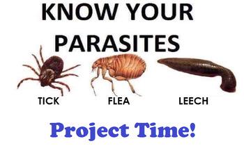 Grade 10-11 Biodiversity- Project on PARASITES!